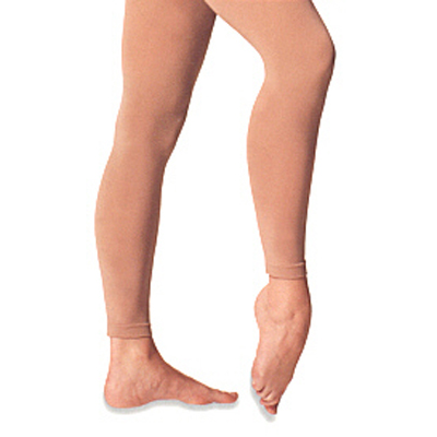 Body Wrappers Ladies Footless Microfibre Tight Style #: A33. For practice or performance,this silky Microfibre tights offer an opaque matte finish. Lined gusset and a plush knit waistband for continuous smooth leg tone.