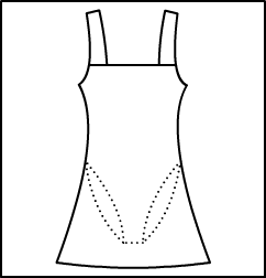 Tank Dress W / Full leotard Style #: 3310-8310. Tank Dress W / Full leotard