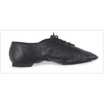 Bloch Split Suede Sole  Jazz  Shoe Style #: SO-423 L/M. This all leather, split-sole jazz shoe ,fits close to the foot while the suede sole provides smooth traction on the floor. The EVA heel gives you cushioning while the cotton lining absorbs moisture.Ladies available in Black,Tan,and White sizes 4-11.5 . Men's available in Black and White sizes 6-13.