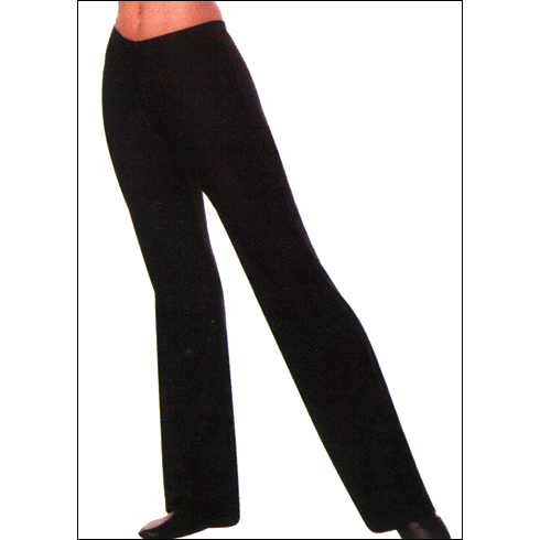 Low Rise Boot Leg Cut Pant Style #: 470.