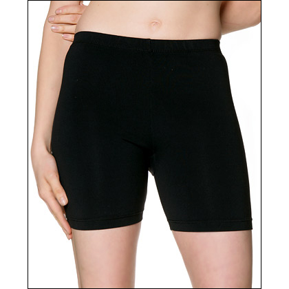 "Supplex-5"" inseam-Bike Shorts Style #: 7360. These bike shorts have a 5"" inseam (our most popular length), perfect for petite women or women who prefer less coverage. They are made from Supplex® nylon and Lycra® spandex for superior fit, comfort and moisture control. They have a CoolMax® gusset."