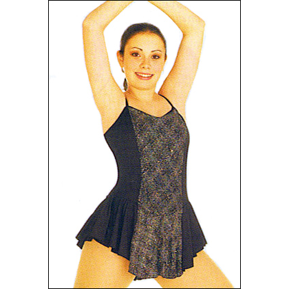 Camisole Skate Dress Style #: 7860. Camisole Skate dress has metallic center panels and features a qwik-wik front lining.