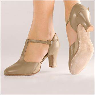 "So-Danca-Open Shank T Strap Character Shoe. Style #: CH57. So-Danca Style No.CH57 (2.5"" Heel). Open Shank T-Strap Character Shoe.