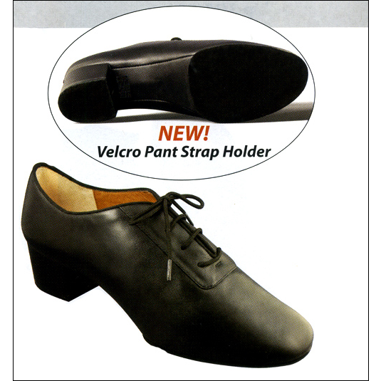 """Eli"" - Men's Professional Ballroom Shoe Style #: 180M. Professional Softy Calf Leather: