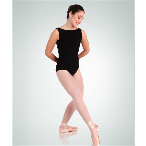Boatneck Leotard w/ Mesh Back Style #: P210. * Contemporary mesh back