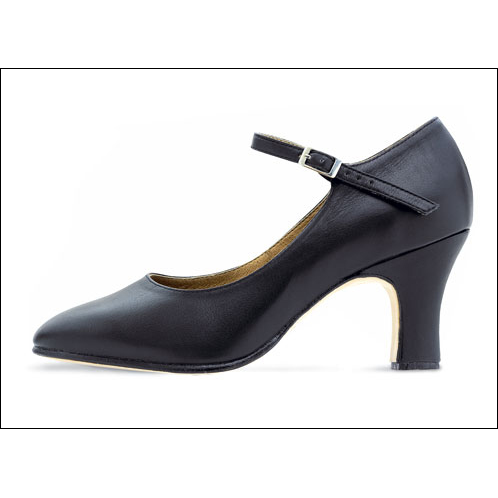"Bloch - ""Chord""- 3"" Heel Character Shoes Style #: S0386L. <li> Soft yet strong leather upper and matching heel covering