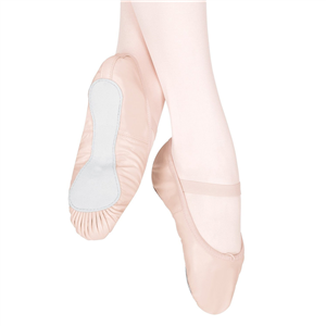 Teknik® Leather Full Sole Ballet Slippers