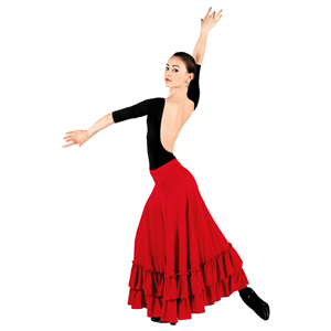 FLAMENCO REHERSAL SKIRT