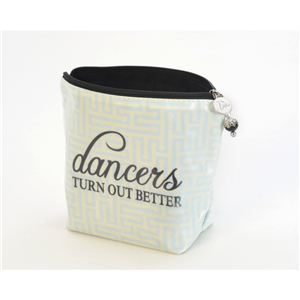 Large Cosmetic Bag - Dancers Turn Out Better