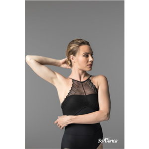 Sara Mearns Collection Spaghetti Strapped Leotard