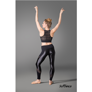 Sara Mearns Collection Shimmer Leggings