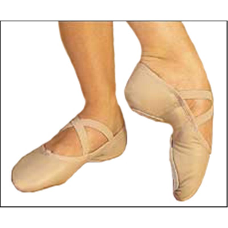 quot juliet quot leather split sole ballet slippers by
