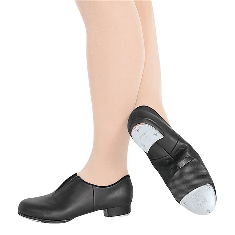 tapflex slip on tap shoe by bloch s0389l on stage