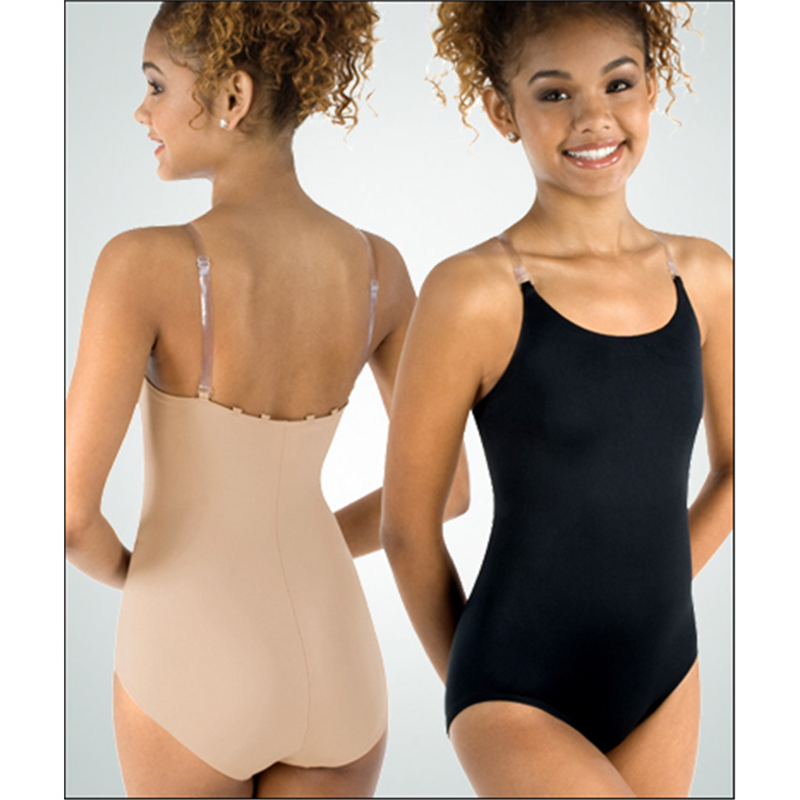98eed831401d Camisole Leotard w See-Through Straps by Body Wrappers   266