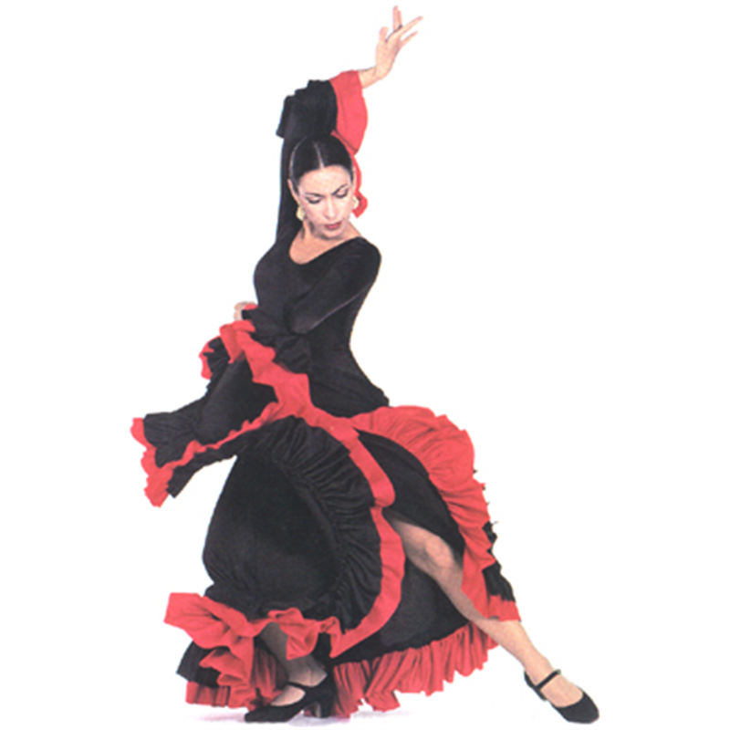 Ruffled Flamenco Dress***FINAL SALE***  sc 1 st  On Stage Dancewear & Ruffled Flamenco Dress***FINAL SALE*** by Star Styled by Algy : OS ...
