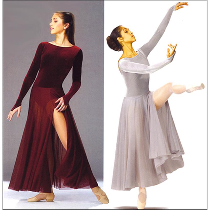 Velvet Velour Dance Dress
