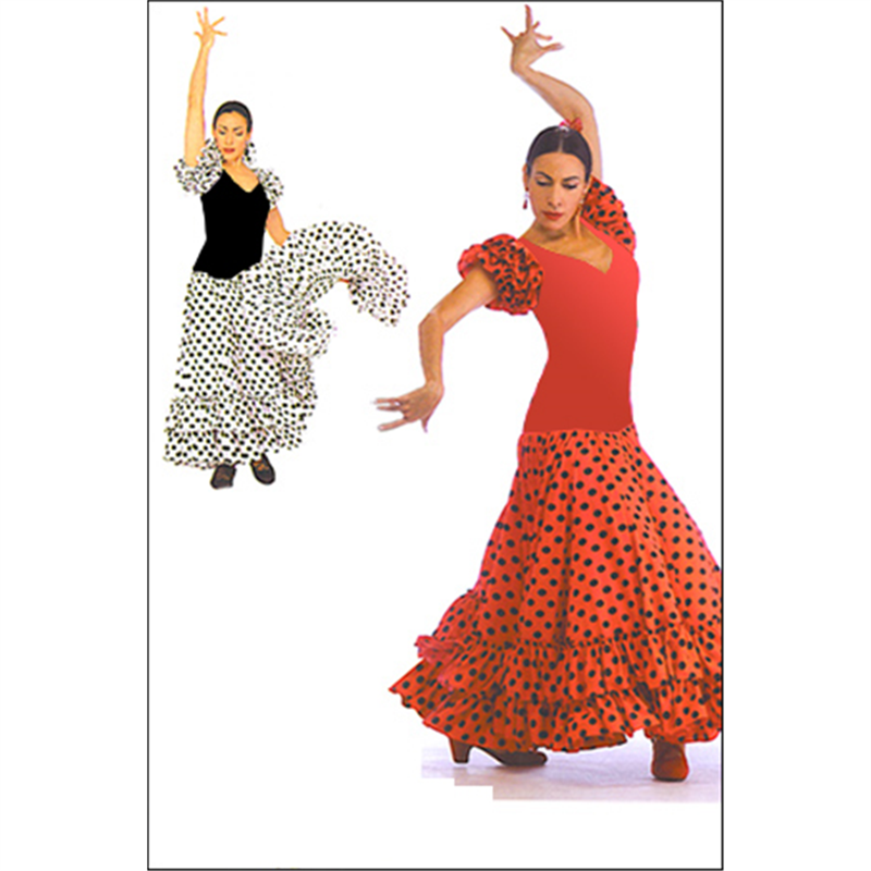 03b6345fca64 Sevillana Flamenco Dress by On Stage : OSD-899, On Stage Dancewear, Capezio  Authorized Dealer.