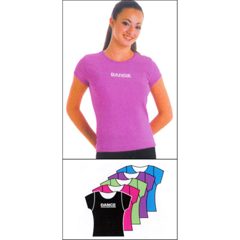 5d8233a445327 Dance Logo-Short Sleeve Tee by Body Wrappers : 7536, On Stage ...