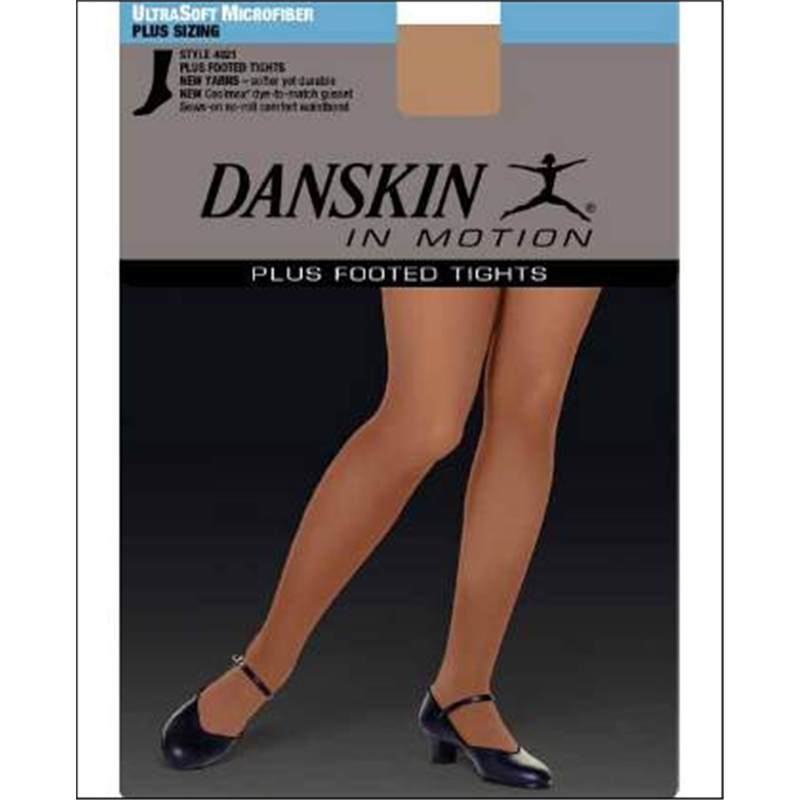 0ddded6027477 High-Performance Plus Size Footed Tight by Danskin : 4021, On Stage ...