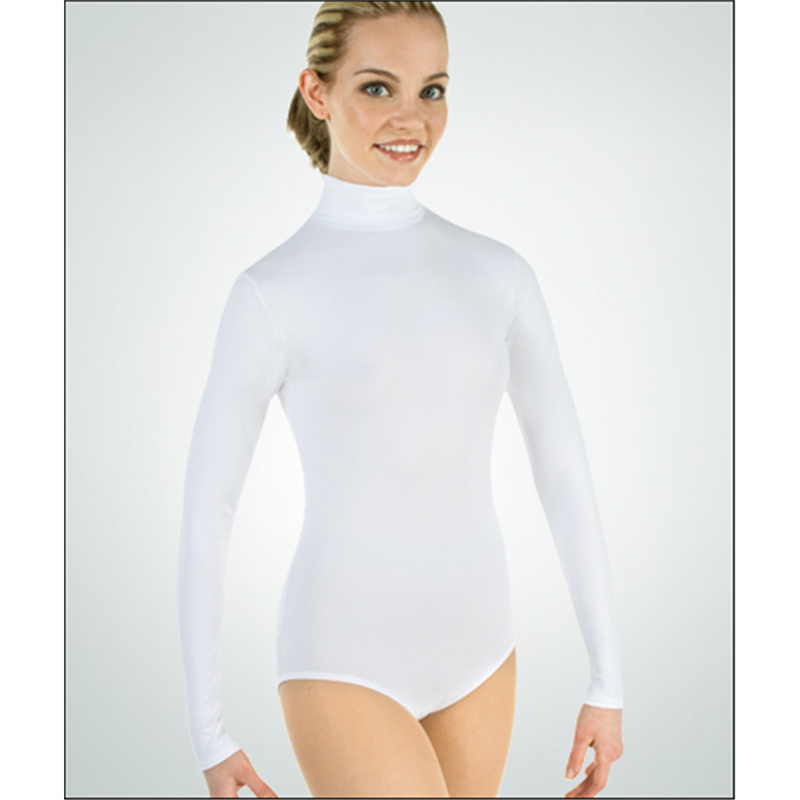 2f0ad01bdc Long Sleeve Turtle Neck Leotard by Body Wrappers   BWP-201