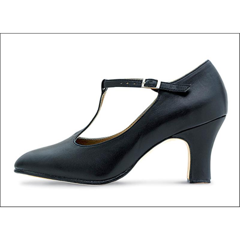 Bloch T.Strap Character Shoe- 2 inch
