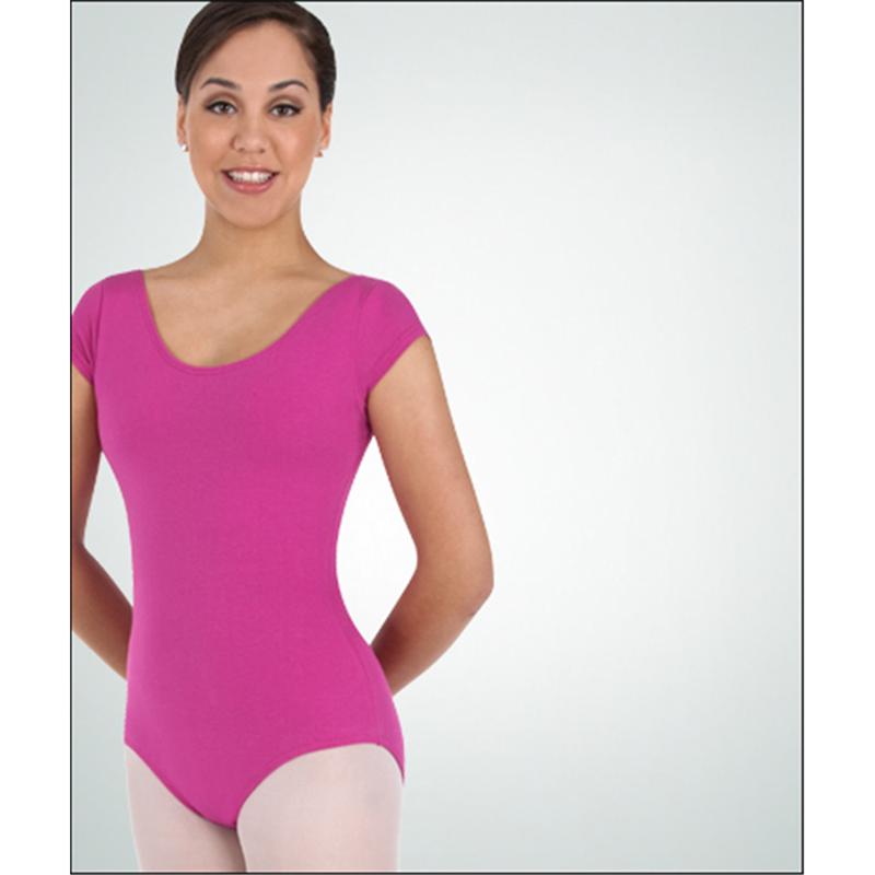 2ff46f47035 Classwear Short Sleeve Ballet Cut Leotard by Body Wrappers   BWC320 ...