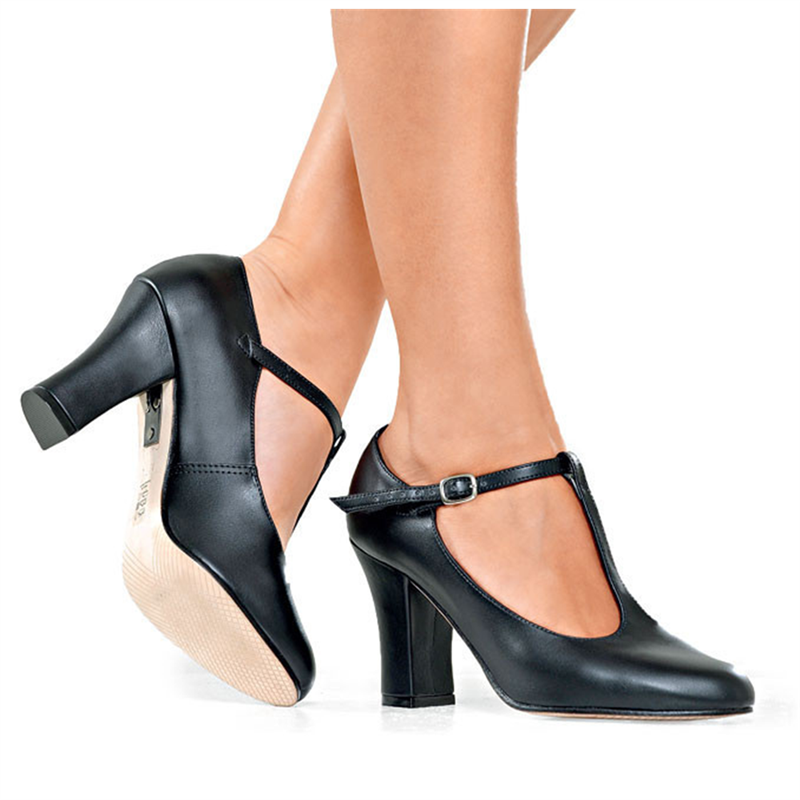 T-Strap 3 inch Heel Character Shoes by