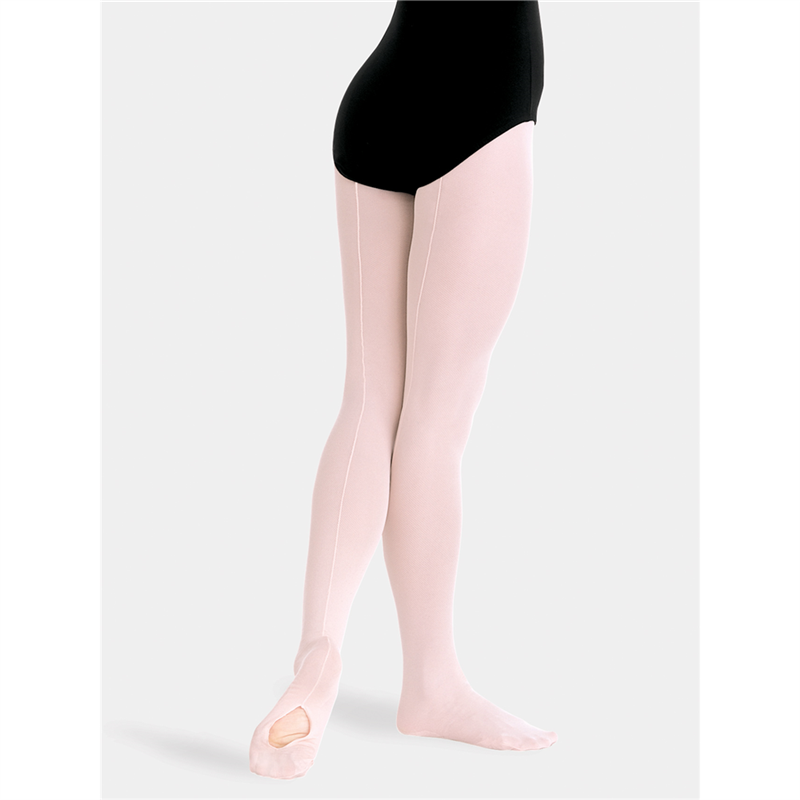 63163d1fabd1f Girls TotalSTRETCH Mesh Seamed Convertible Tights. $14.95. Style #: C45 Body  Wrappers ...