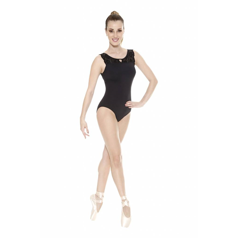 df6b749cb7 Womens Lace Back Tank Leotard by So Danca   RDE1677 So Danca